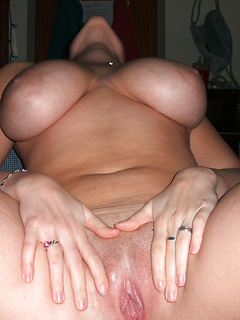 Girlfriends with beautiful big natural tits pose for lusty homemade pics