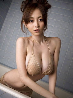 Anri Sugihara has the hottest big natural Japanese tits you have ever seen